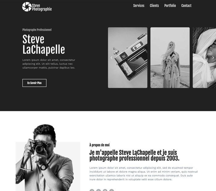 site photographe